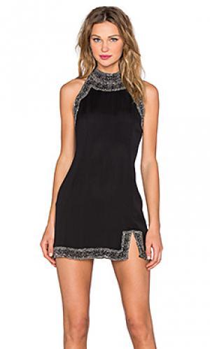 Платье gatsby NBD. Цвет: черный
