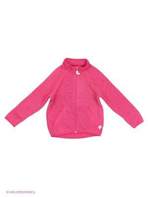 Куртка флисовая Reima. Цвет: розовый