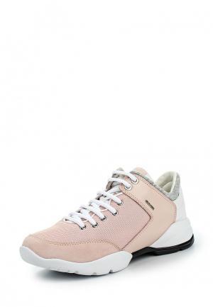 Кроссовки Geox. Цвет: розовый