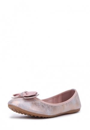 Балетки T.Taccardi. Цвет: розовый