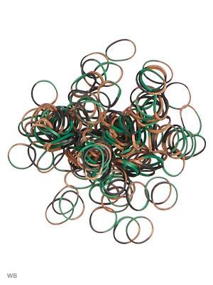 Набор для плетения Loom Bands. Цвет: зеленый, бежевый, черный