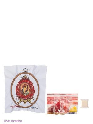 Набор для вышивания Казанская Божья Матерь Матренин Посад. Цвет: белый