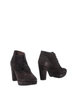 Полусапоги и высокие ботинки SAX. Цвет: свинцово-серый