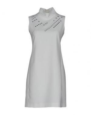 Короткое платье BIANCOGHIACCIO. Цвет: белый