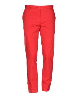 Повседневные брюки GREY DANIELE ALESSANDRINI. Цвет: красный