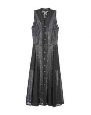 Платье длиной 3/4 LABO.ART. Цвет: свинцово-серый