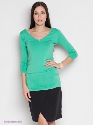 Пуловер IMAGINI. Цвет: светло-зеленый