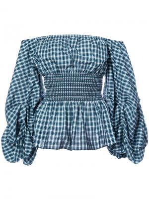 Блузка Ashley Petersyn. Цвет: зелёный