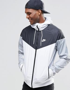 Nike Белая ветровка 727324-101. Цвет: белый