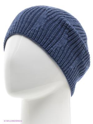 Шапка Trend. Цвет: синий, серый