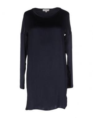 Блузка ANTONELLI. Цвет: темно-синий