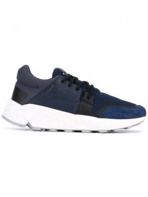 Lace-up sneakers Etq.. Цвет: синий