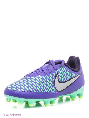 Бутсы JR MAGISTA ONDA FG Nike. Цвет: фиолетовый