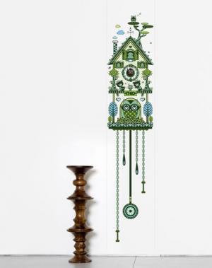 Предмет декора DOMESTIC. Цвет: зеленый