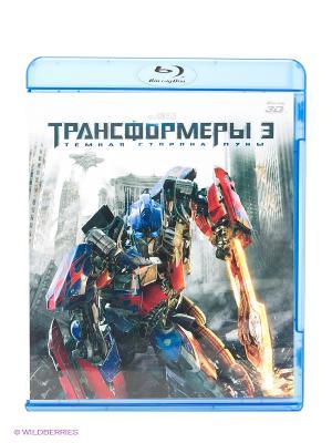 Фильм Трансформеры 3. Тёмная сторона Луны 3D НД плэй. Цвет: серый, красный, синий