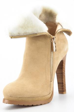Ankle boots Rosa rot. Цвет: beige