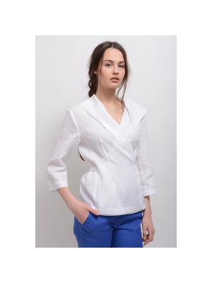 Блуза Дельфина LINO RUSSO. Цвет: белый