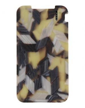 Аксессуар для техники RICK OWENS. Цвет: светло-желтый