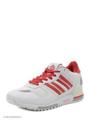 Кроссовки EDITEX. Цвет: белый, красный