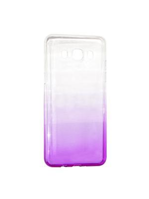 Крышка задняя для Samsung Galaxy J5 (2016) Силикон IQ Format. Цвет: фиолетовый