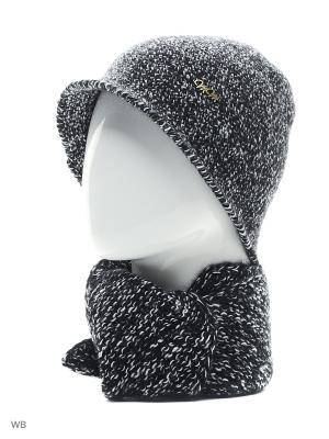 Комплект Меланжевый ТТ. Цвет: черный, белый