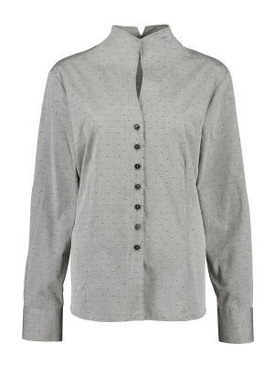 Блуза Eterna. Цвет: серый