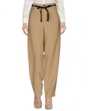 Повседневные брюки .TESSA. Цвет: песочный