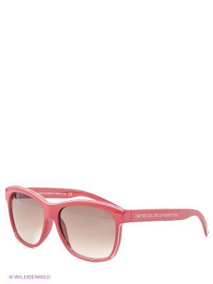 Солнцезащитные очки BB 512S R2 United Colors of Benetton. Цвет: красный