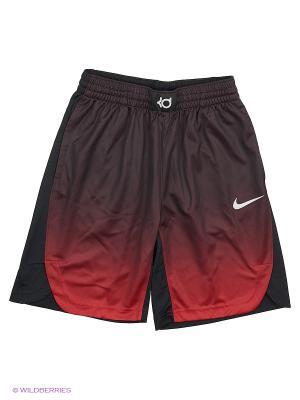 Шорты KD B NK DRY HPRELT SHORT Nike. Цвет: черный, красный