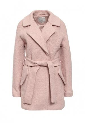 Пальто Ichi. Цвет: розовый
