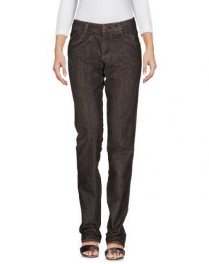 Джинсовые брюки KENZO. Цвет: темно-коричневый