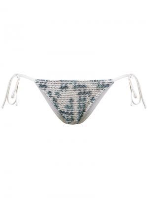 Knit bikini bottom Cecilia Prado. Цвет: белый