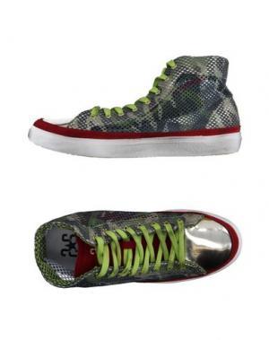 Высокие кеды и кроссовки 2STAR. Цвет: зеленый-милитари