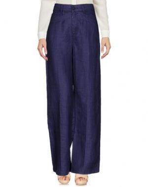 Повседневные брюки E_GO' SONIA DE NISCO. Цвет: темно-фиолетовый