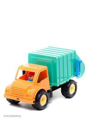 Грузовик-мусоровоз Battat. Цвет: зеленый, оранжевый