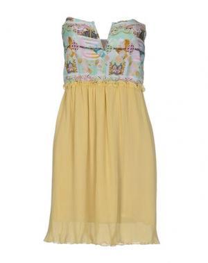 Короткое платье F**K PROJECT. Цвет: светло-зеленый