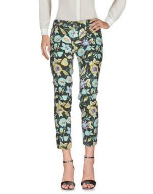 Повседневные брюки TROU AUX BICHES. Цвет: зеленый