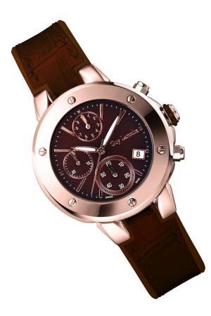 Часы Guy Laroche. Цвет: коричневый