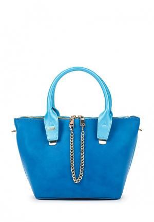 Сумка Giorgio Di Mare. Цвет: голубой