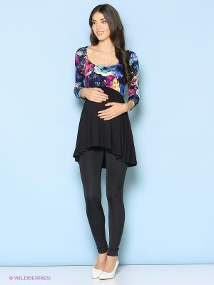 Туника Trendy Tummy. Цвет: синий, черный, розовый