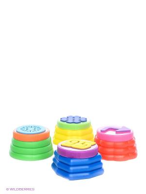Пальчиковые краски с печатями Играем вместе. Цвет: синий, зеленый, красный