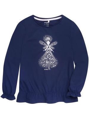 Блузка Endo. Цвет: синий