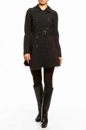 Пальто DENNEY ROSE. Цвет: черный