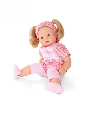Кукла Макси-маффин,блондинка в розовом GOTZ. Цвет: розовый