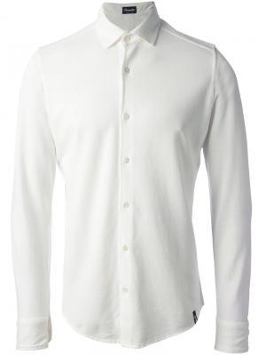 Рубашка Drumohr. Цвет: белый