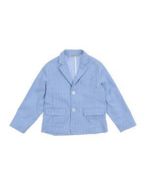 Пиджак DANIELE ALESSANDRINI. Цвет: лазурный