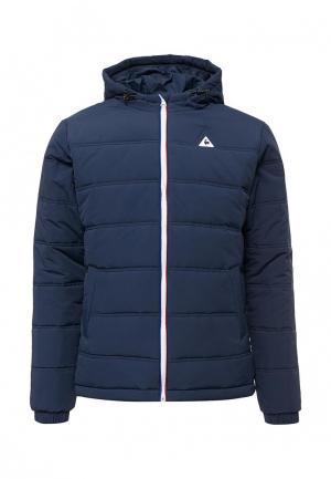 Куртка утепленная Le Coq Sportif. Цвет: синий