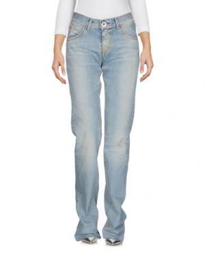 Джинсовые брюки MISS SIXTY. Цвет: синий