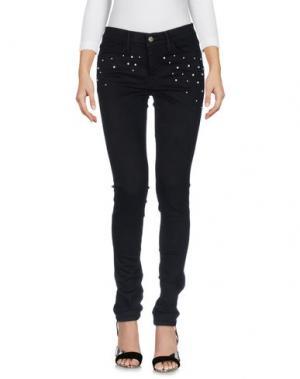 Джинсовые брюки WILDFOX. Цвет: черный