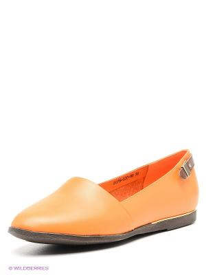 Балетки Baden. Цвет: оранжевый